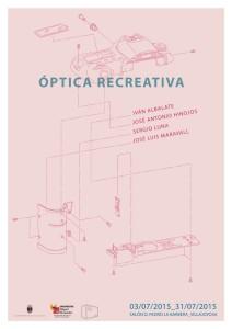 carte optica recreativa